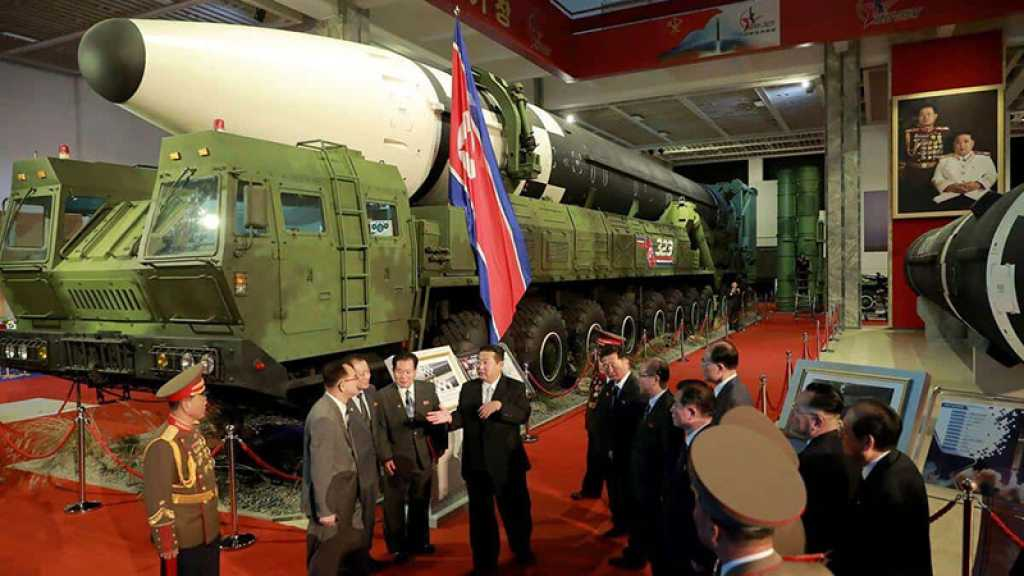 Démonstration de force de l'armée nord-coréenne lors d'une exposition consacrée à la défense