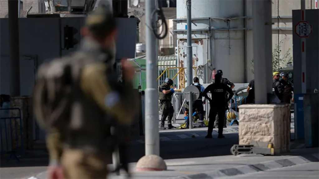 Un agent de la police de l'occupation blessé dans une attaque à la voiture-bélier au point de contrôle de Qalandiya