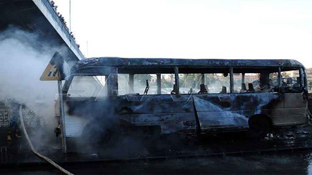 Syrie: attaque terroriste à la bombe d'un bus militaire à Damas, 14 martyrs