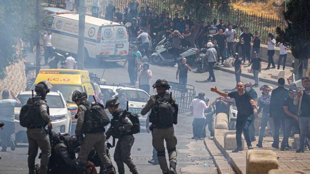 Al-Qods occupée: Violents affrontements entre Palestiniens et forces de l'occupation, 22 citoyens arrêtés