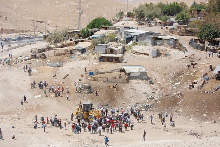 #Cisjordanie occupée: feu vert israélien à la démolition d'un village bédouin sous 7 jours