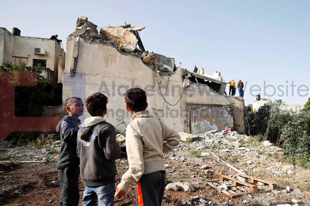 """""""Israël"""" détruit la maison de l'auteur de l'opération héroïque de Salfit"""