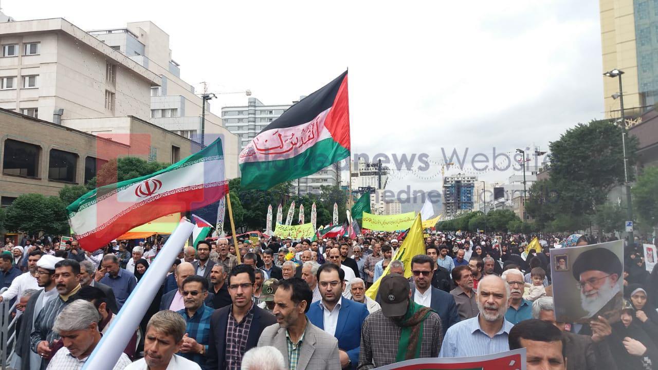 Des millions d'Iraniens célèbrent la Journée mondiale d'al-Qods (photos)