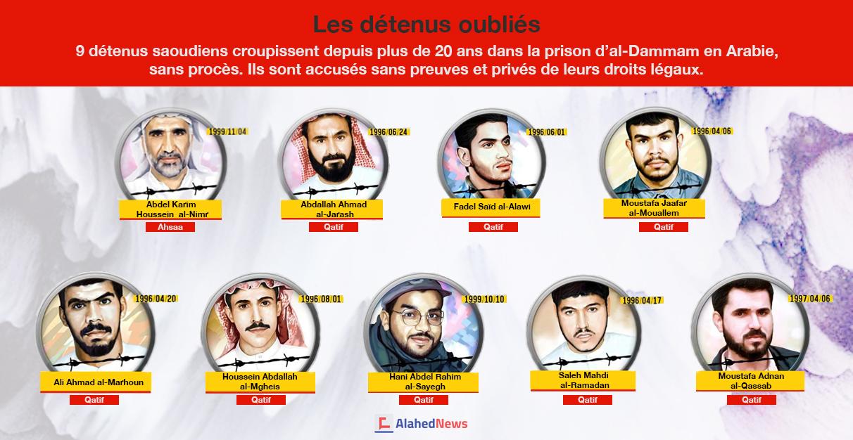 Les détenus oubliés dans les geôles des Al Saoud