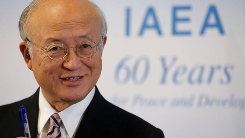 Mort du directeur général de l'AIEA, Yukiya Amano, à l'âge de 73 ans