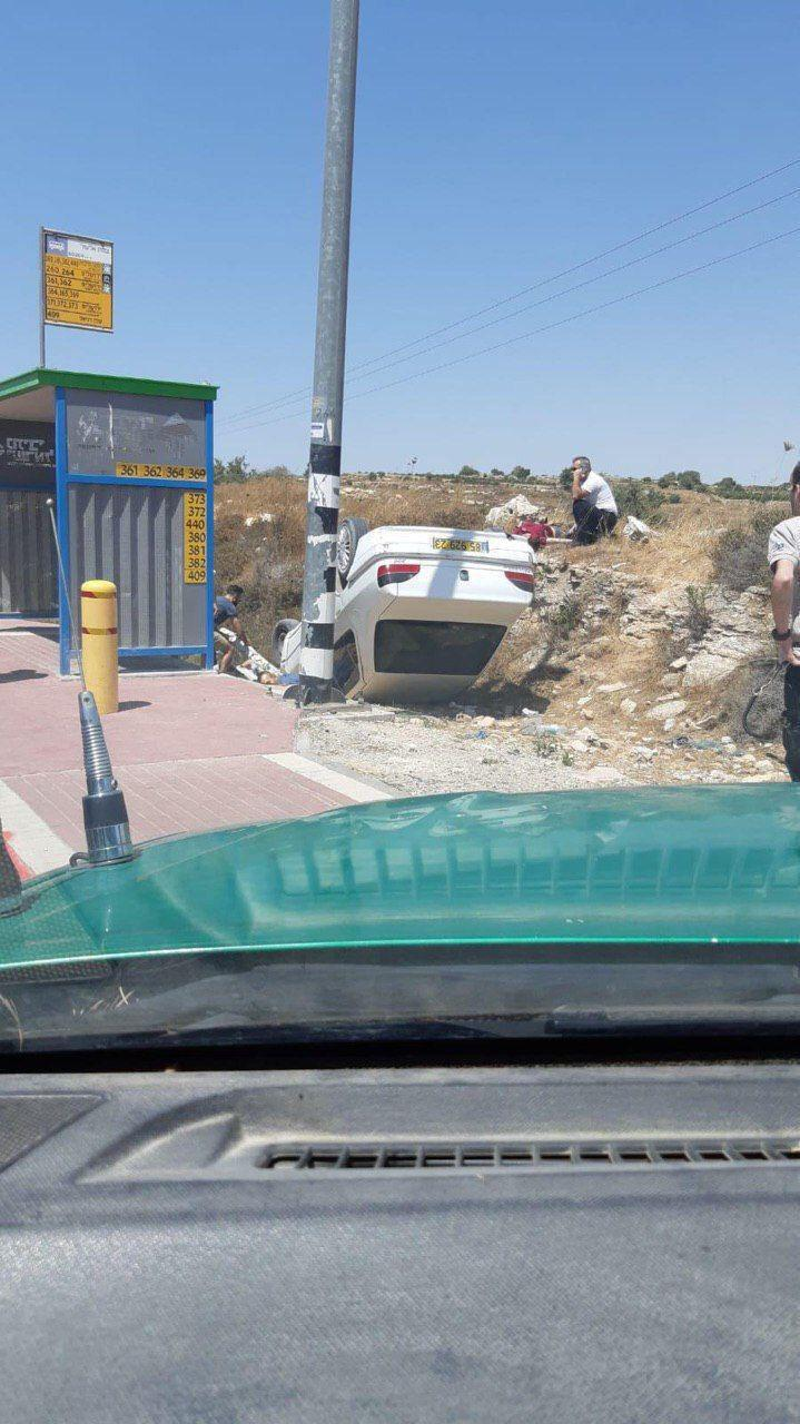Opération à la voiture-bélier près de Hébron : deux colons morts, selon des médias sionistes
