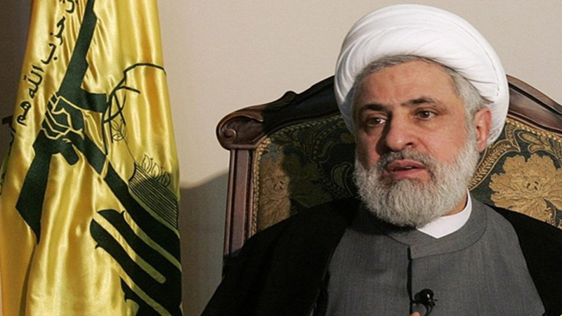 Cheikh Qassem: Pompeo a affirmé à plusieurs reprises, qu'il ne veut pas que le Hezbollah soit présent dans le gouvernement