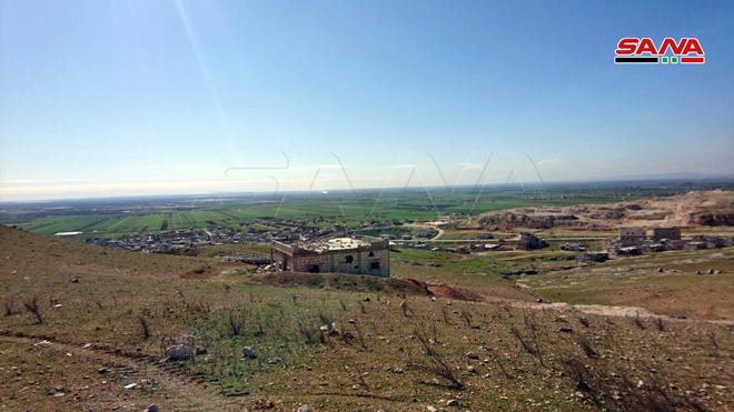 La colline stratégique d'al-Is dans la banlieue sud d'Alep libérée (Photos)