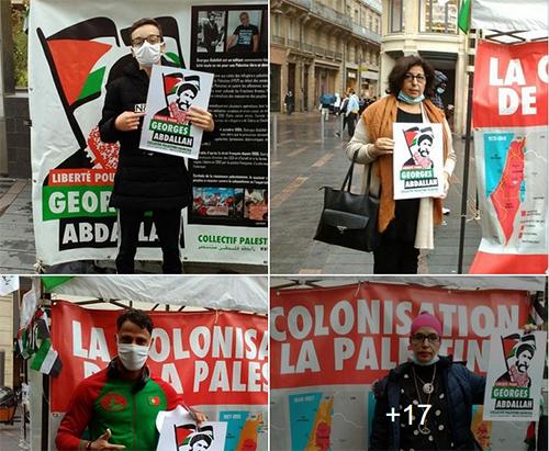 Un nouveau Stand Palestine à Toulouse en soutien à la libération de Georges Abdallah