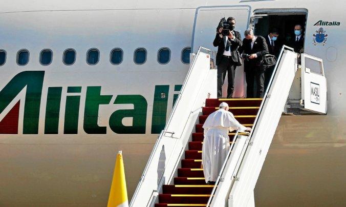 Le pape quitte l'Irak après une visite historique