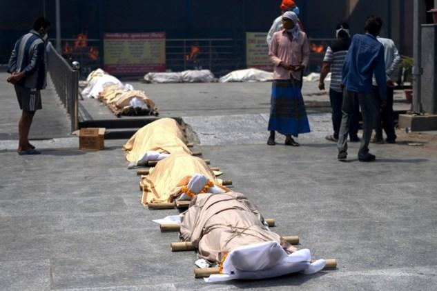 Inde: 3645 décès du Covid-19 en 24 heures, un nouveau record