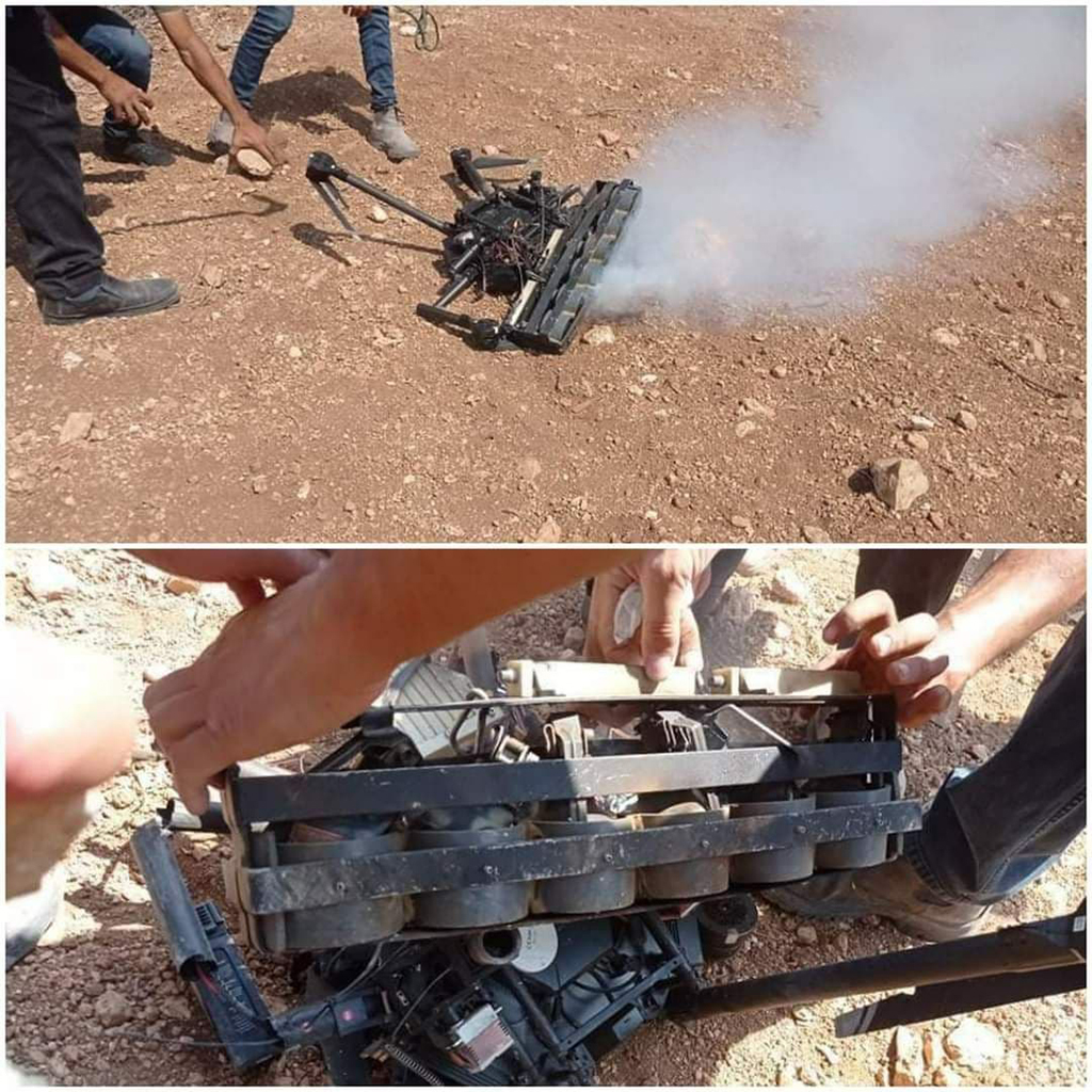 Crash d'un drone militaire israélien dans le nord de la Cisjordanie occupée